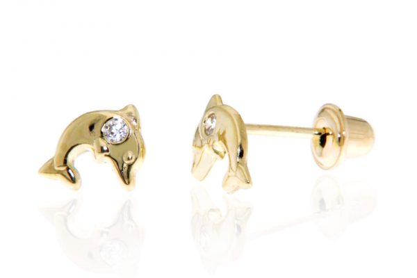 Children's Dolphin Earring